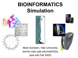 Simulation - Gerstein Lab